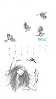 february by-youdesignme-iphone-5