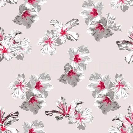 Hibiskus-rosa