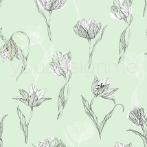tulips-on-curcumber