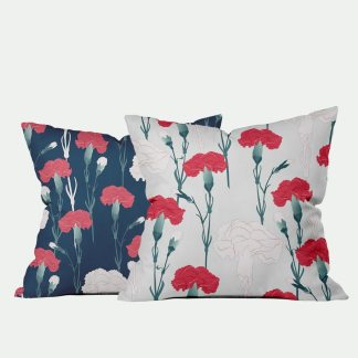 carnation-pillows