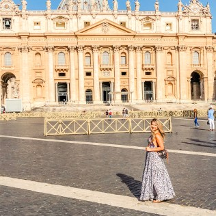 Vatican City explore rome on a budget