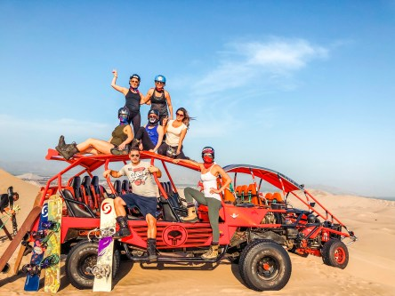 dune bug tour in huacachina