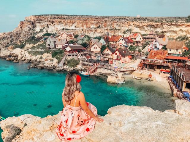 Popeyes Village How To Travel Around Malta On A Budget
