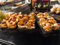 pintxos at cafe Iruña How To Visit Bilbao