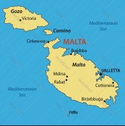 map of malta 3 islands How To Travel Around Malta On A Budget