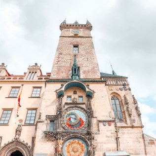 astronomical clock in prague instagram worthy