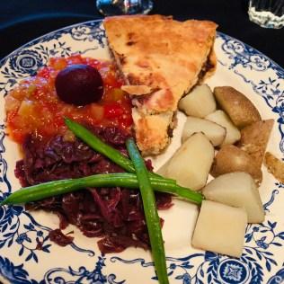 meat pie Aux Anciens Canadiens
