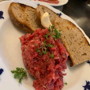 kantyna restaurant beef tar tar