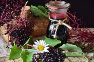 Elderberry - A food beginning with E