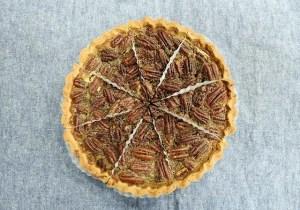 Pecan or walnut pie