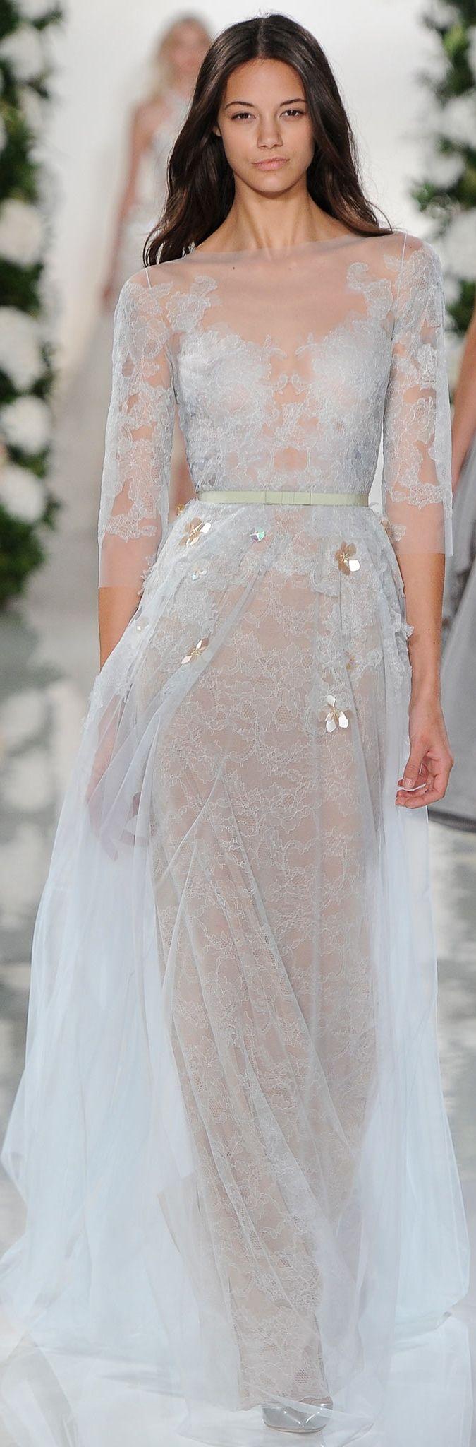 Trendy Wedding Dresses Valentin Yudashkin RTW Spring