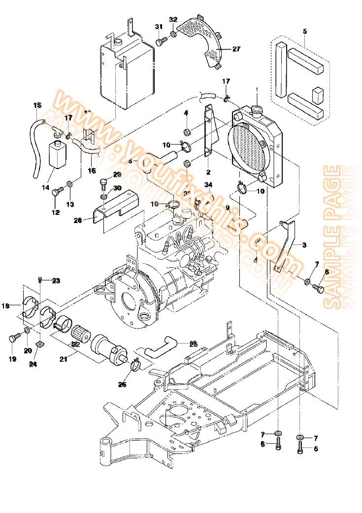 bobcat 773 parts manual [skid steer loader] – youfixthis  youfixthis