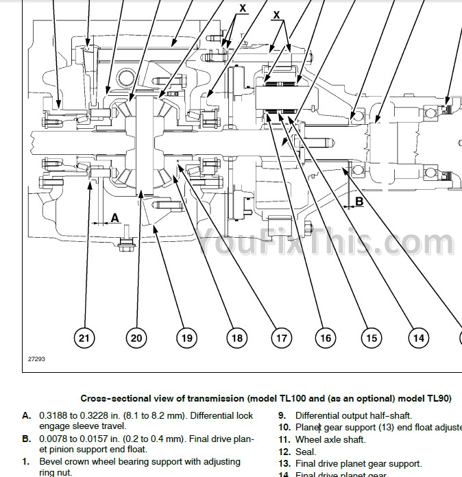 New Holland TL70 TL80 TL90 TL100 Repair Manual [Tractor