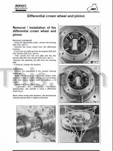 Claas Renault Ceres 316 326 336 346 Repair Manual [Tractor