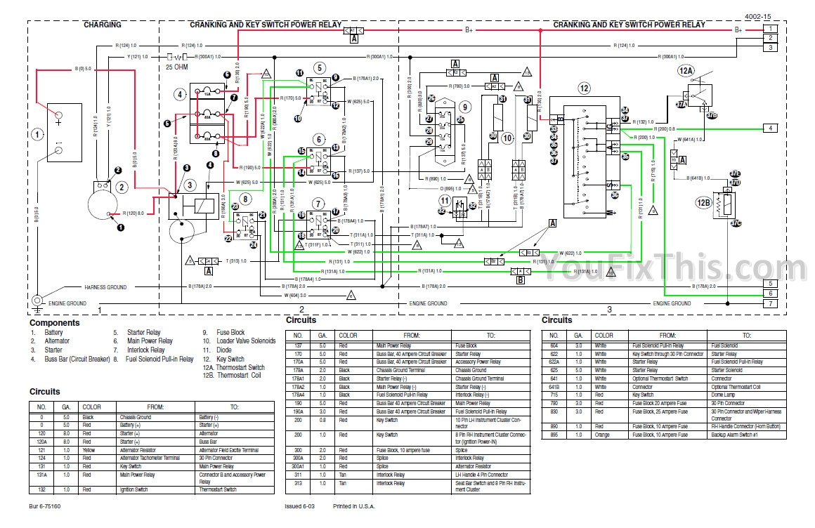 8b1 1845 case wiring diagram b wiring resources bobcat skid steer wiring diagram 2001 1845c wiring diagram #13