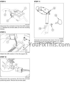 Case 650K 750K 850K TIER II Repair Manual [Crawler Dozer] « YouFixThis