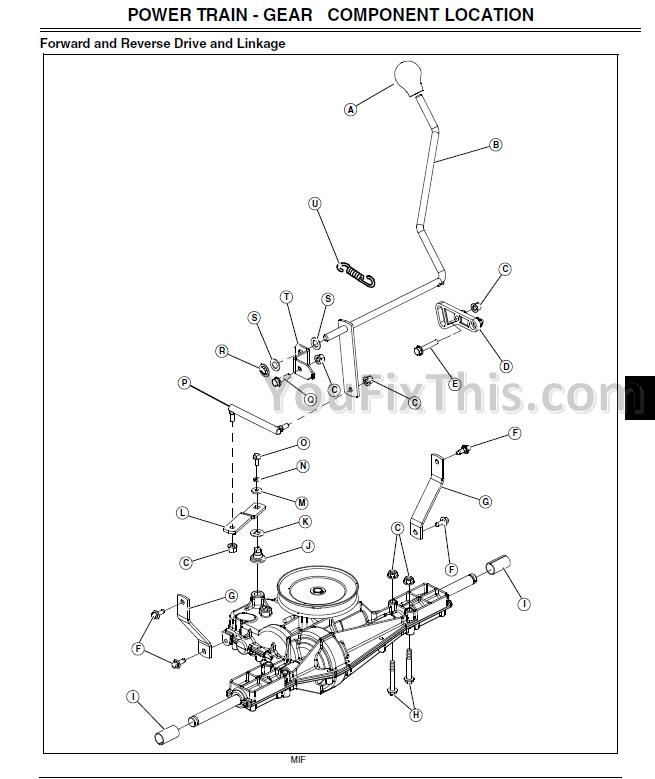 John Deere L100 L110 L120 L130 Repair Manual [Lawn