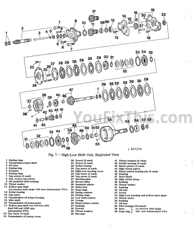 John Deere 2130 Repair Manual [Tractor]