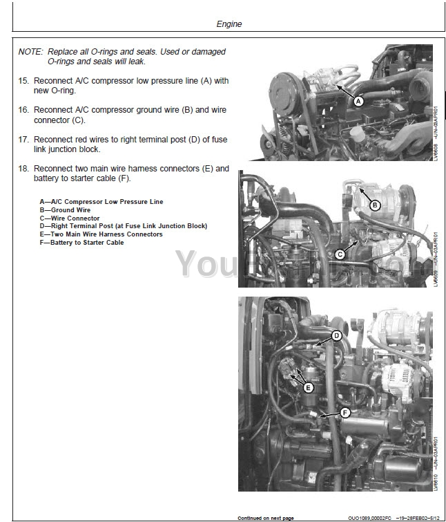 John Deere 5220 5320 5420 5520 Repair Manual [Tractor
