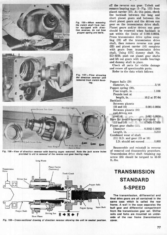 Ih International 666 686 Hydro 70    86 Shop Manual