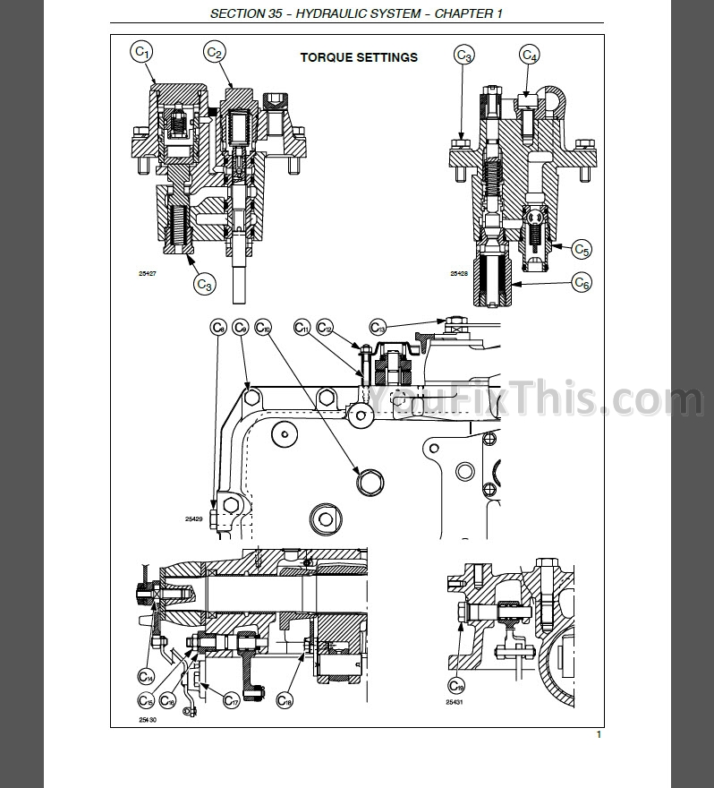 New Holland T1510 T1520 Repair Manual [Tractor]