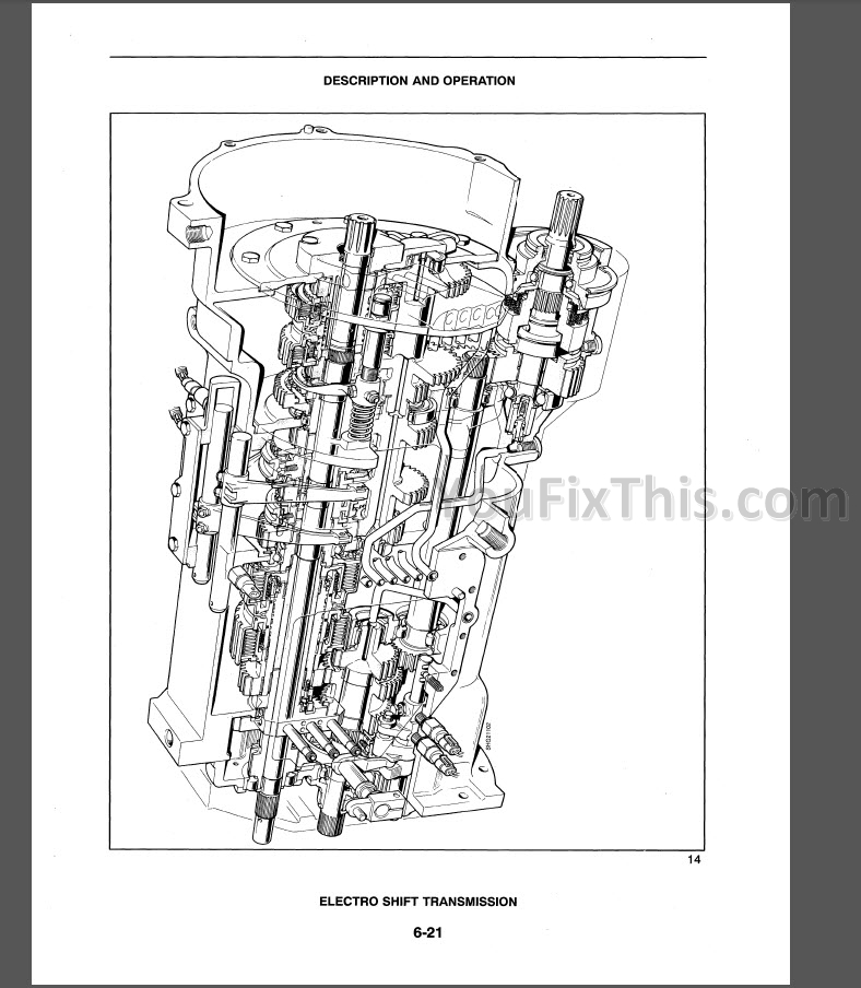 New Holland TS90 TS100 TS110 Repair Manual [Tractor