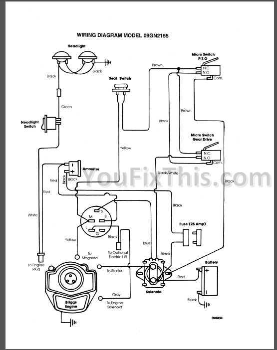Ford YT12.5 YT14 YT16 YT16H YT18H Repair Manual [Tractor] – YouFixThisYouFixThis