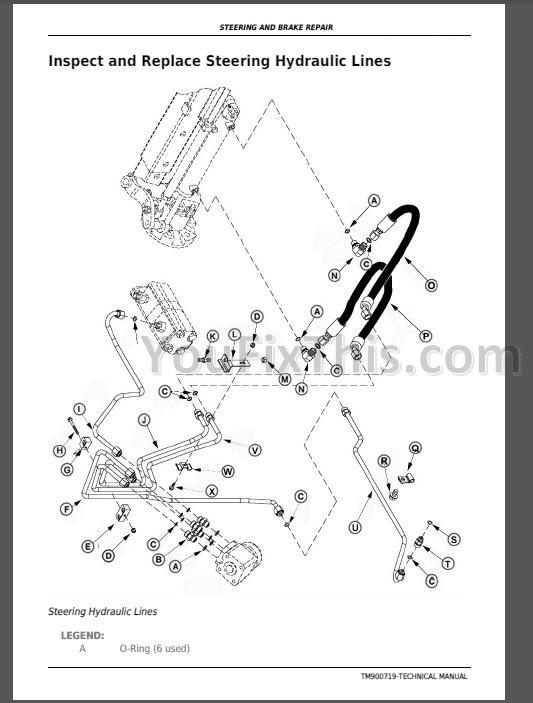 John Deere 5038D 5042D 5045D 5047D 5050D Repair Manual