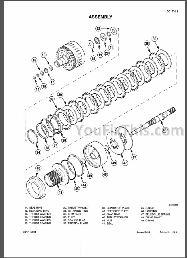 Case MX150 MX170 Repair Manual [Tractor]