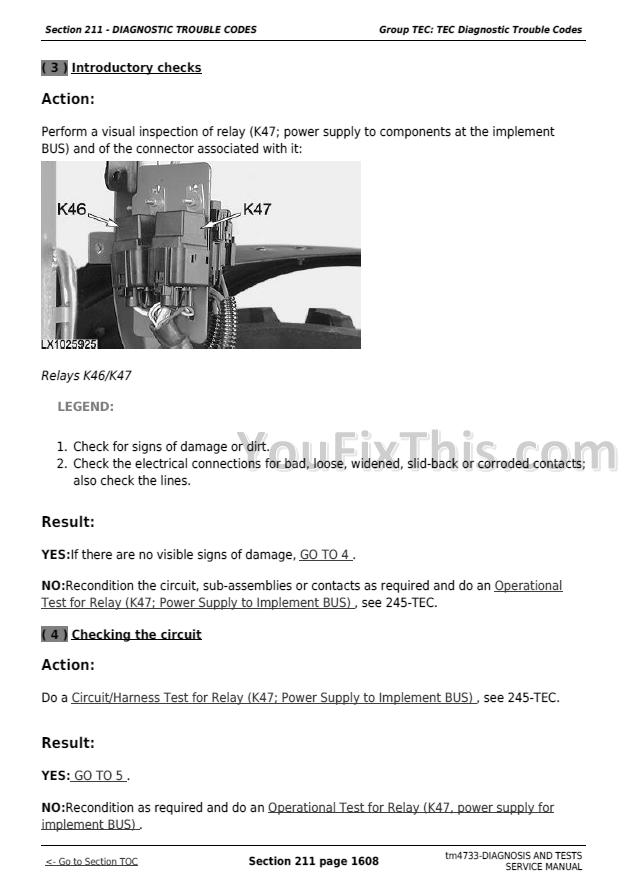 John Deere 6120  6220  6320  6420  6120l  6220l  6320l  6420l  6520l Tractors Diagnostic Manual
