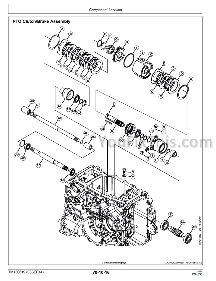 John Deere 3033R 3038R 3039R 3045R 3046R Technical Repair
