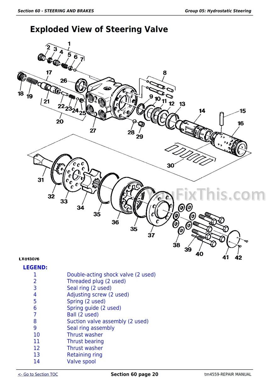 John Deere SE/ 6010 6110 6210 6310 6410 6510 6610 Repair Manual [Tractor] –  YouFixThis