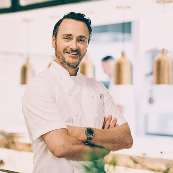 Ο chef Jason Atherton