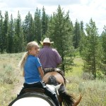 Horse ride in the Grand Tetons