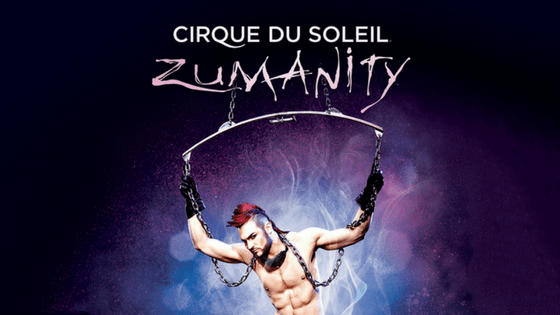 Advertisement for Zumanity Las Vegas - one of the best Vegas shows