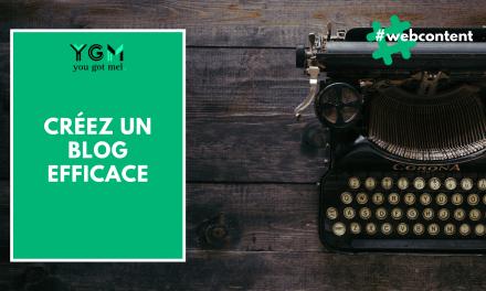 Blog : créez le vôtre et publiez votre premier billet