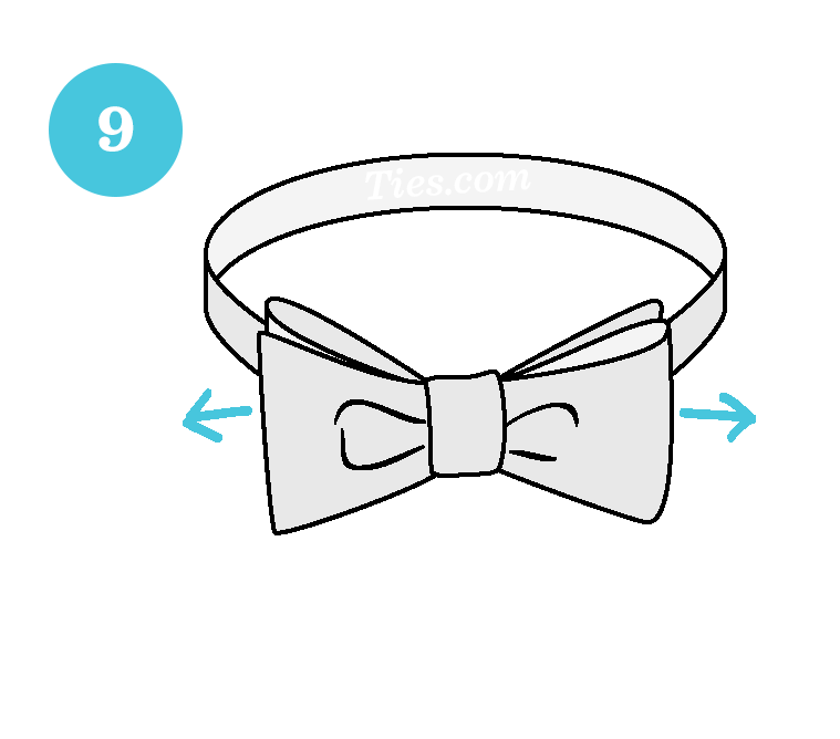 10 Easy Steps To Tying A Bow Tie