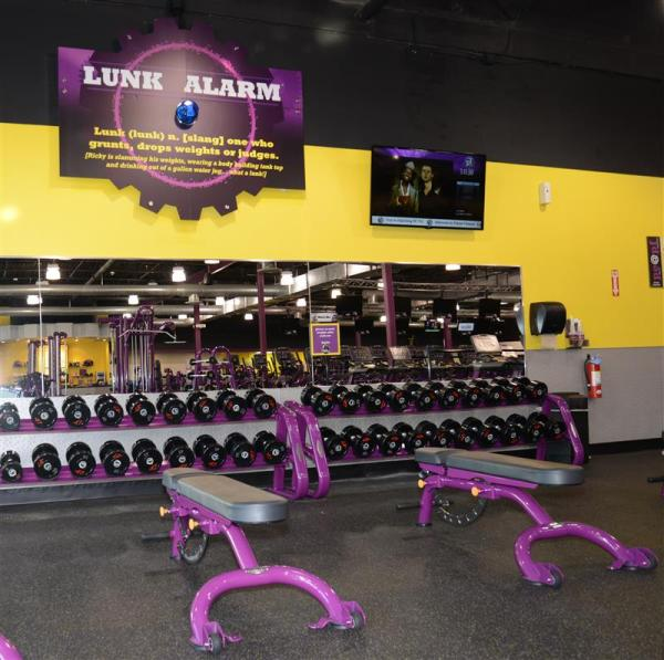 Free Weights Planet Fitness