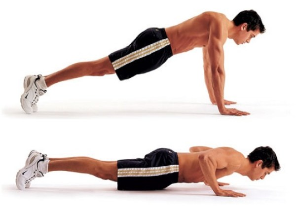 body weight exercises push ups