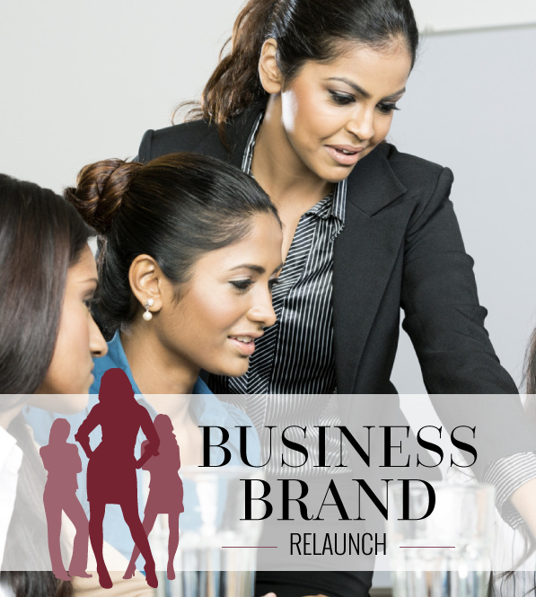 BUSINESS BRAND RE-LAUNCH
