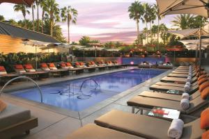 The Mirage Hotel and Casino swimming pool.