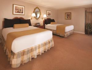 Paris Las Vegas Double Beds in large room