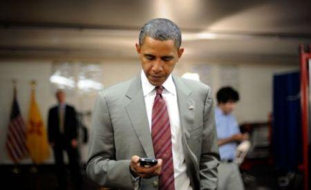オバマ BlackBerry