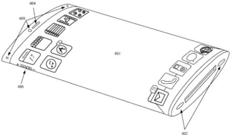 iPhone フレキシブルディスプレイ 特許