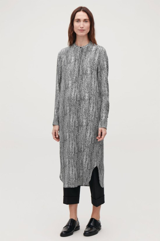 COS Printed Mid-Length Dress