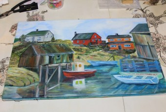 East Coast of Canada – Oil Painting