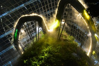 Cloud Forest at Gardens by the Bay Singapore via youmademelikeyou.com