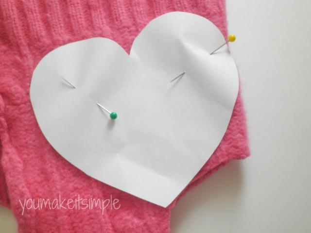 sweater hearts - youmakeitsimple.com