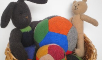 Baby Gift Ideas – Upcycled Sweater Toys