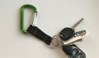 DIY: Carabiner Keychain Tutorial